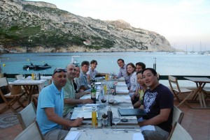 Dinner at Lunch at the Calanque